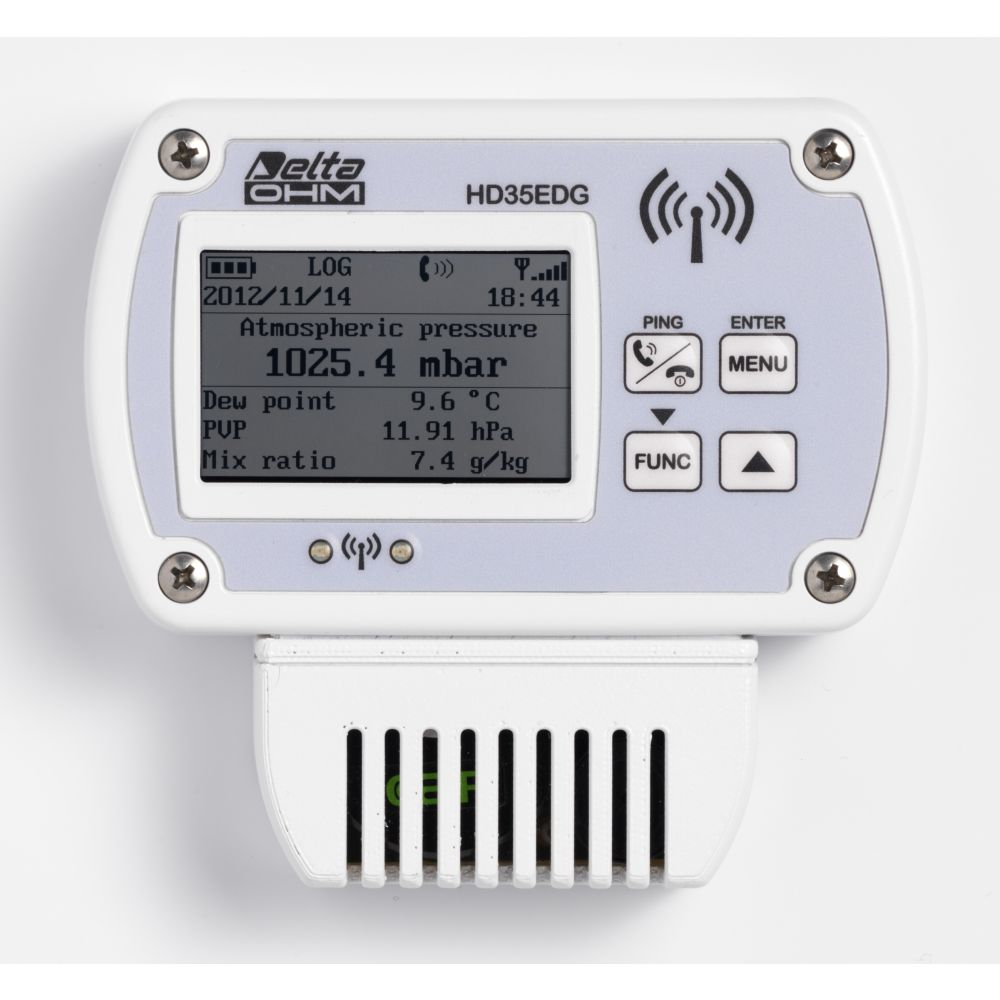 Hd35 Wireless Data Logger System Delta Ohm Pic Temperature The Logging Allows Monitoring Of Many Physical Quantities In Various Application Fields Loggers Are Available