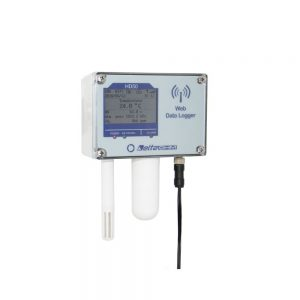 Web Data Logger - Wifi Ethernet Communication