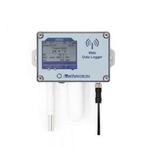 Web Data Logger - Wifi Ethernet Communication