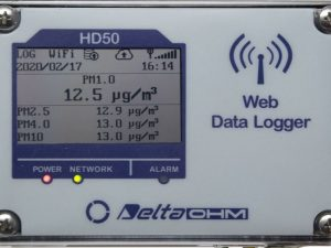 PM measurement: HD50PM